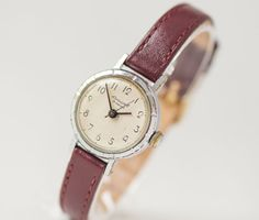 Simple women's watch Youth girl's watch small by SovietEra on Etsy