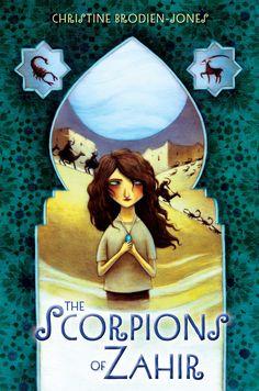 """Kelly Murphy's cover for """"The Scorpions of Zahir"""""""