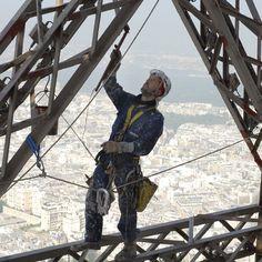 La peinture de la Tour Eiffel