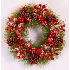 Christmas decorations Christmas Tree wreath (35 cm in diameter) *** See this great product. (This is an affiliate link) #SeasonalDcor