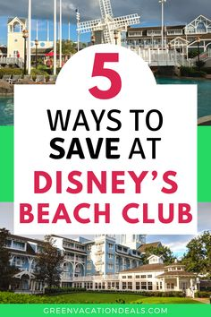 How to save money at Disney World's Beach Club resort. Your family will love this deluxe hotel! You can walk or take a boat to EPCOT Best Family Vacations, Family Vacation Destinations, Vacation Deals, Disney Resorts, Best Resorts, Orlando Vacation, Orlando Florida, Travel Advice, Travel Hacks
