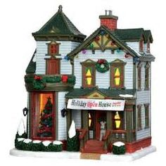 christmas village houses northwoods - Yahoo Image Search Results