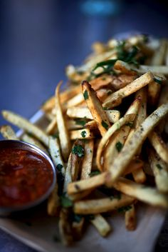 French fries by mycaptureoftime, via Flickr