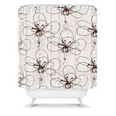 Found it at Wayfair - Rachael Taylor Tonal Floral Shower Curtain