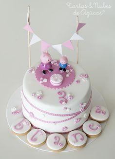 tartas y nubes de azúcar: tartas fondant
