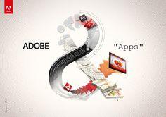 25 Digital Imagination screens from Adobe International Campaign. Follow us www.pinterest.com/webneel