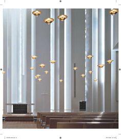 The Church of the Good Shepherd, Helsinki, Finland. Architects : Vilhelm Helander, Juha Leiviskä, arkkite...