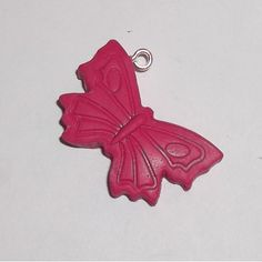 Pink Butterfly Charm