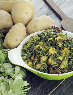 Aloo Methi, Punjabi Aloo Methi Recipe recipe | Punjabi Aloo Methi Recipe | by Tarla Dalal | Tarladalal.com | #22789