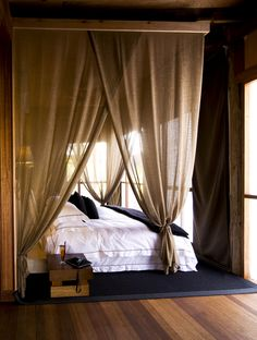 Simple and Creative Tips: Entrance Canopy Tent canopy bed cozy.Canopy Over Bed bedroom canopy nooks. Canopy Curtains, Canopy Bedroom, Patio Canopy, Canopy Tent, Dream Bedroom, Home Bedroom, Master Bedroom, Bedroom Decor, Window Canopy