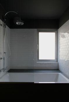 Reforma vivienda 80m2 Madrid. arquitecto: Pablo Echávarri Santos (abril 2011): baño (by Pablo Echávarri)