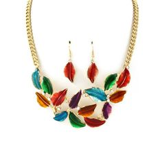 #thealchemyshop #nature #leaf #statement #jewelry #necklace #edgy