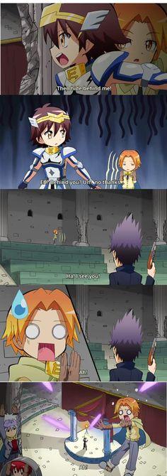 Koro-sensei Quest!!!!! Look at Karma and Itona..lolxD