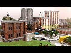 TILTED TOWERS in Minecraft!   Minecraft Timelapse - YouTube