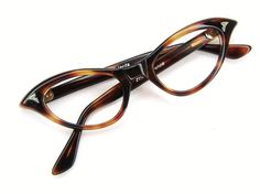 Vintage Glasses by Vintage50sEyewear.....I used to have a pair just like this in high school....lol