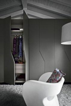 Charmant Garderobe Ideen Für Eine Schöne Und Moderne Schlafzimmereinrichtung