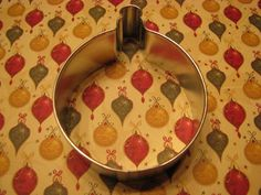 Ornament 3.25 Metal Cookie Cutter by AllThatDough on Etsy, $2.25