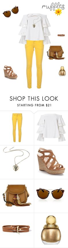 """sunny in pants"" by baska-m ❤ liked on Polyvore featuring M Missoni, Exclusive for Intermix, Jennifer Lopez, Chloé, Topshop and Tory Burch"