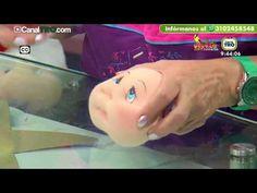 TRUCOS BÁSICOS para facciones MUÑECOS SOFT. Muñecos con expresión en 3D. - YouTube Puppet Tutorial, Doll Tutorial, Sock Dolls, Project 4, Soft Sculpture, Precious Moments, Fabric Dolls, Christmas Projects, Hand Embroidery