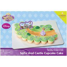 Sofia cupcake cake