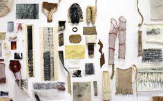 Habitat: Ursula von Rydingsvard's wall of inspiration in her studio. | ARTnews