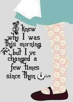 Lewis Carroll, Alice's Adventures in Wonderland – zitieren Great Quotes, Quotes To Live By, Inspirational Quotes, Super Quotes, Motivational Quotes, Change Quotes, Meaningful Quotes, The Words, Book Quotes