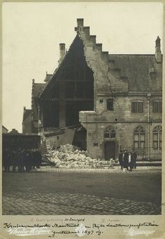 instorting kruisherenklooster 1906