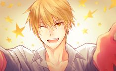 Place 10: Kise Ryota~ From Kuroko no Basket, the cuttest and funniest carácter in that anime, i love blonde guys and i love him <3