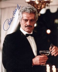 Omar Sharif - Egypt's most famous Hollywood star.  Icon