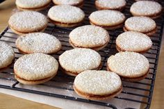 These buttery, bite-size Spanish sandwich cookies have an amazing caramel filling. Everyone will love them!