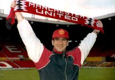 A pivotal moment: Eric Cantona signs for the Reds from Leeds United Liverpool Images, Manchester United Images, Manchester United Football, Leeds United, Munich Air Disaster, Oxford United, Bobby Charlton, Eric Cantona