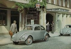1946' VW Beetle 1200 Standard Press Photo - its forties but Iike it too much to ignore!