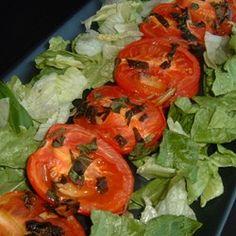 Roasted Roma Tomatoes and Garlic - Allrecipes.com