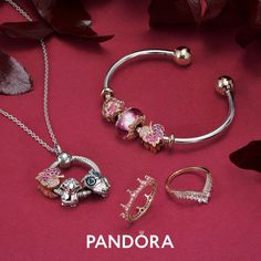 Pandora Jewelry OFF!>> Our hand-finished classic open bangle is now available with a snake chain texture and two-tone metals. Easy to open end caps make quick work of changing charms. Pair with our other pieces for a perfectly polished look! Pandora Bracelet Charms, Pandora Rings, Pandora Jewelry, Pandora Leather Bracelet, Pink Gemstones, Delicate Rings, Sterling Silver Bracelets, Jewelry Collection, Spring Collection
