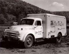 Clover Creamery Milk Delivery Truck Roanoke, Va via Old Roanoke.com