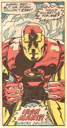 IRON MAN!?! (by Herb Trimpe & Marie Severin from Iron Man # 83, 1976)