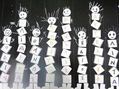 5o - 7o ΝΗΠΙΑΓΩΓΕΙΑ ΤΥΡΝΑΒΟΥ: Δραστηριότητες για την εκμάθηση του ονόματος Thing 1, Advent Calendar, Holiday Decor, Blog, Advent Calenders, Blogging