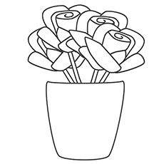 mothers day flowers coloring pages - Free Large Images   More pages ...