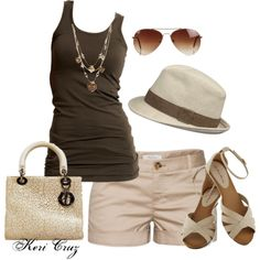 """Summer Style"" by keri-cruz on Polyvore"
