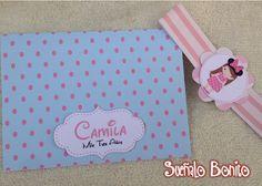 Invitación Cumpleaños Infantil      Material: Opalina   Tema: Minnie Mouse                        En esta ocasión, creamos un modelo muy ...