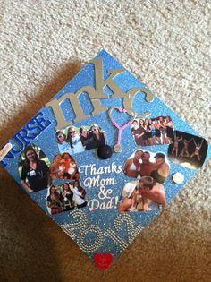 Decorated graduation cap :)