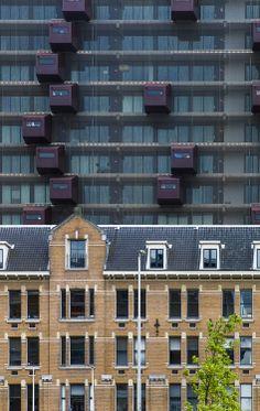 Schiecentrale Rotterdam. Art by digital artist Hans Hunefeld.