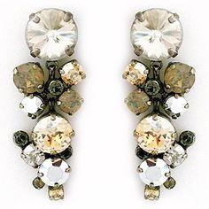 Golden Shadow Statement Earrings SALE!!