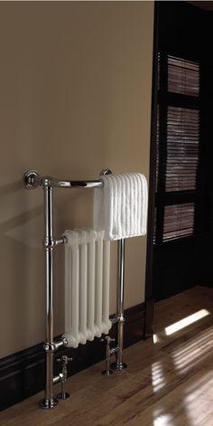 Prachtige nostalgische radiator: de blikvanger van uw badkamer
