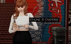 Sims 4 Apple iPhone 8 Override
