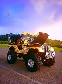 just some jeep stuff. remember keep the Jeep wave alive ! Cj Jeep, Jeep Cj7, Jeep Mods, Jeep Wrangler Yj, Jeep Wrangler Unlimited, Jeep Truck, Vintage Jeep, Vintage Cars, Jeep Baby