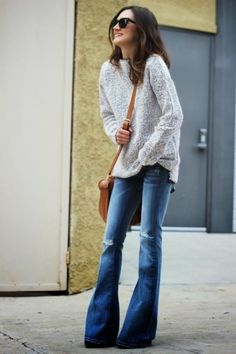 18 Stylish Ways To Wear Flared Jeans | Styleoholic