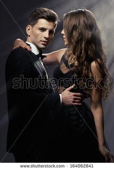 Sensual portrait of cute couple  by Studio10Artur, via Shutterstock