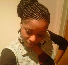 Dutch Braided Hairstyle with Shaved Sides - 20 Superb Braids with Shaved Sides Worth Copying - The Trending Hairstyle Natural Cornrow Hairstyles, Ghana Braids Hairstyles, Shaved Side Hairstyles, Pretty Hairstyles, Protective Hairstyles, Natural Braid Styles, Natural Braids, Braids With Shaved Sides, Beautiful Braids