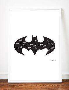 Batman Digital Download Printable File Superhero Print 8x10 Art Print by sandybanner on Etsy https://www.etsy.com/listing/203408662/batman-digital-download-printable-file